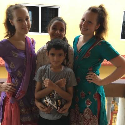 Jessica W in Nepal